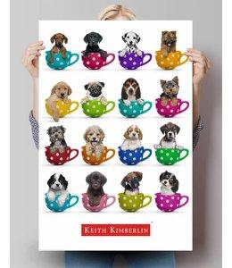 Poster keith Kimberlin pups in kopjes