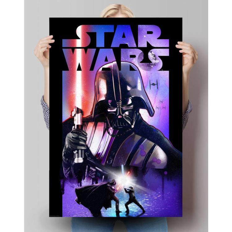 Star Wars Darth Vader lichtzwaard  - Poster 61 x 91.5 cm