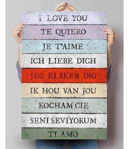 Poster Ik hou van jou