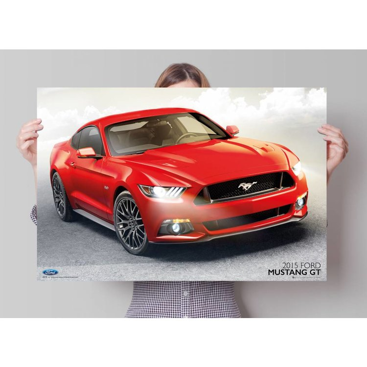 Ford Mustang  - Poster 91.5 x 61 cm