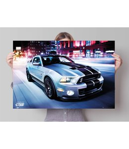 Poster Ford Shelby GT500 2014