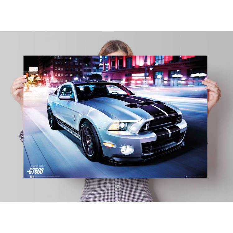 Ford Shelby GT500 2014  - Poster 91.5 x 61 cm