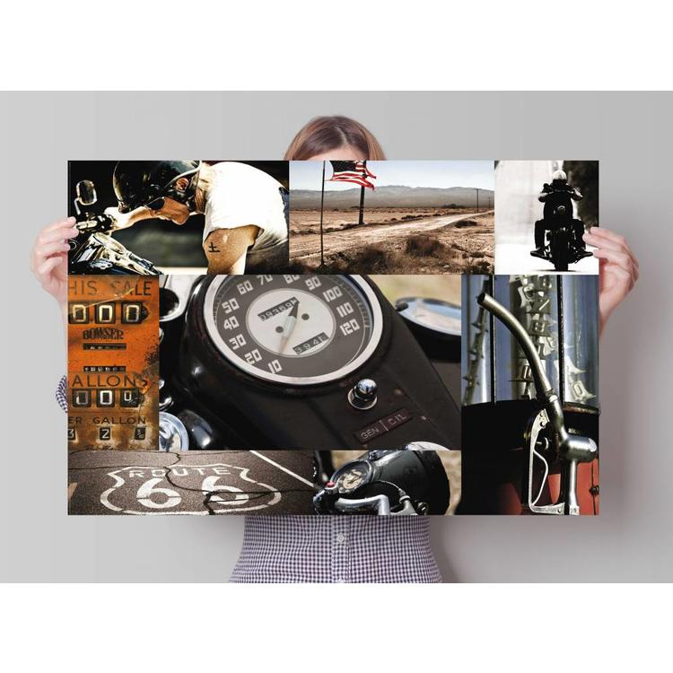ROUTE 66  - Poster 91.5 x 61 cm