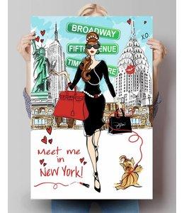 Poster Meet me in New York
