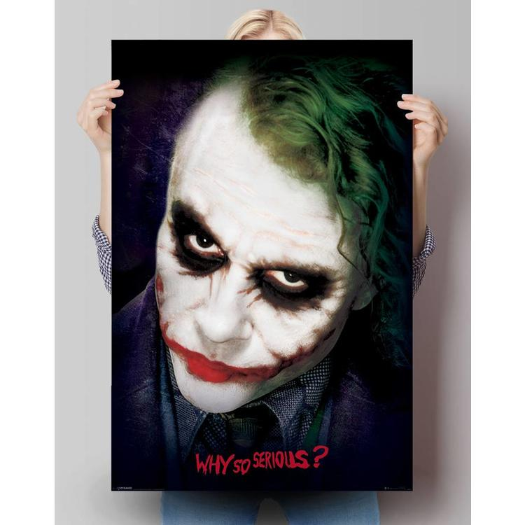 Dark Knight joker  - Poster 61 x 91.5 cm