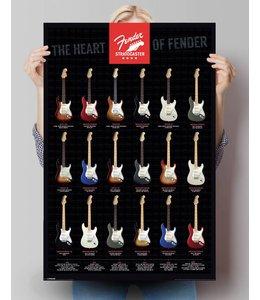 Poster Fender gitaar