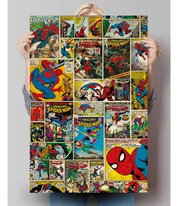 Poster Marvel spiderman comic covers