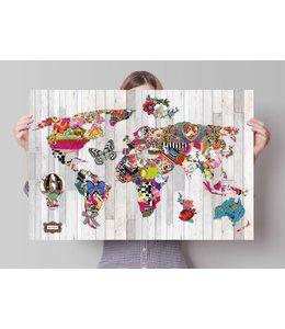 Poster Melli Mello world