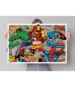 Poster Marvel Superhelden