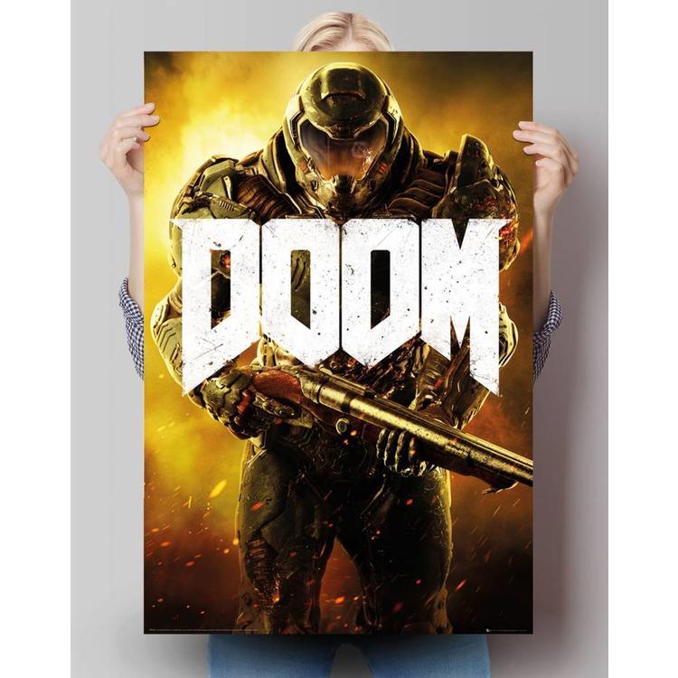 Doom - marine  - Poster 61 x 91.5 cm