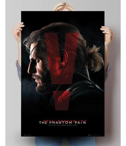 Poster Metal Gear Solid V - cover