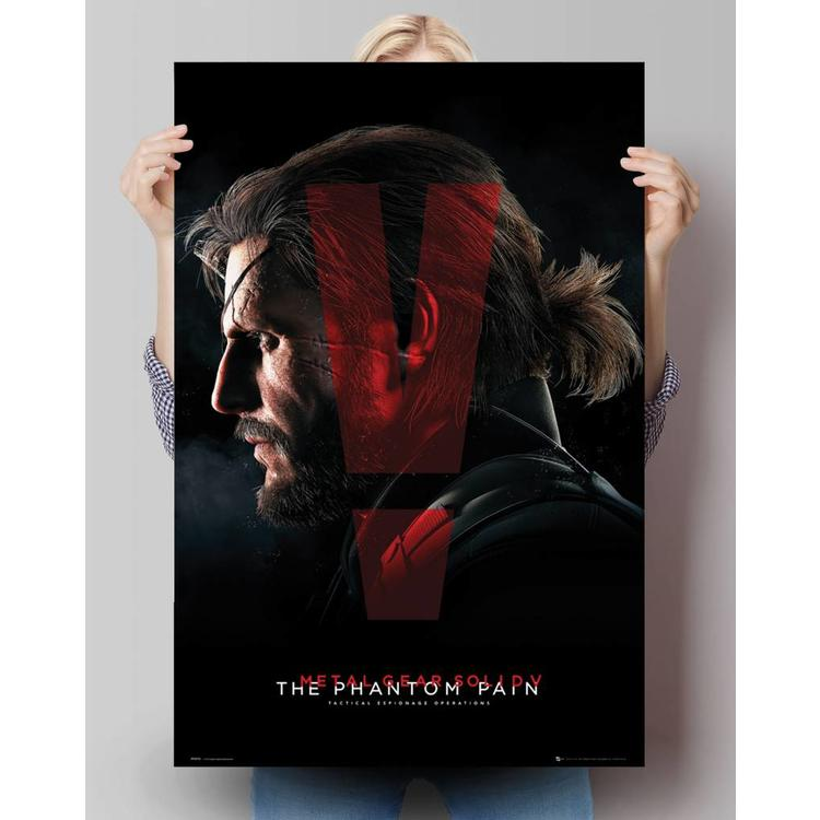 Metal Gear Solid V - cover  - Poster 61 x 91.5 cm