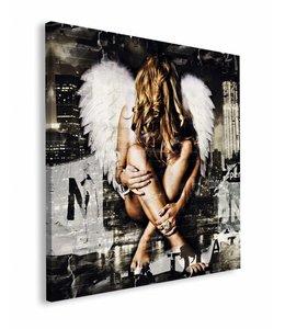 Schilderij Jacksart  engel