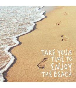 Schilderij Enjoy the Beach
