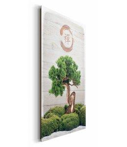Schilderij Bonsai