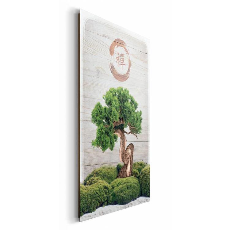 Bonsai  - Schilderij 60 x 90 cm