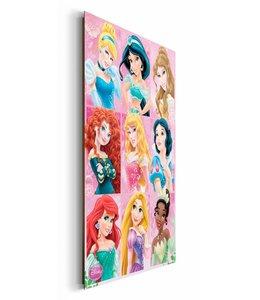 Schilderij Disney Princess compilatie