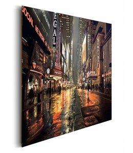 Schilderij New York 42nd Street