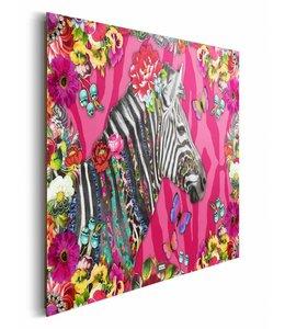 Schilderij Melli Mello zebra