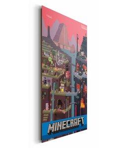 Schilderij Minecraft