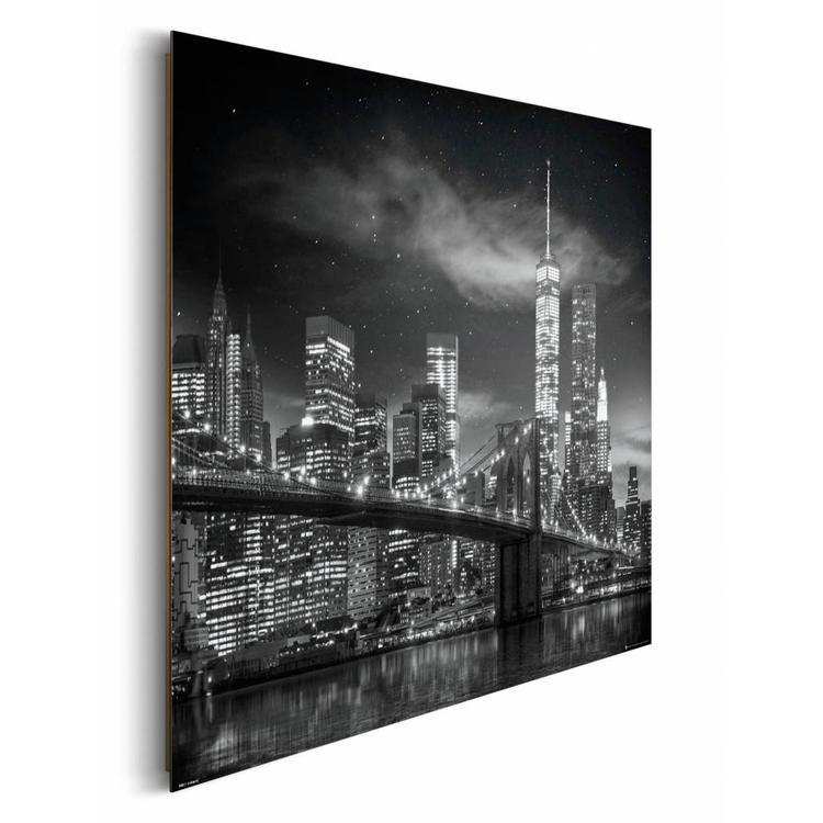 New York Freedom Tower by night  - Schilderij 90 x 60 cm