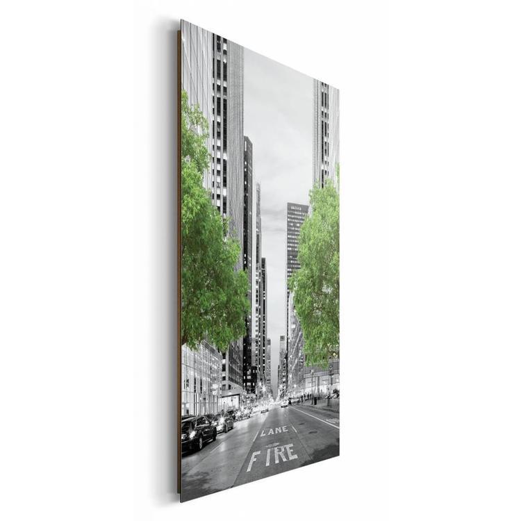 New York Trees  - Schilderij 60 x 90 cm