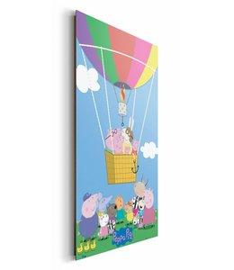 Schilderij Peppa Pig ballon