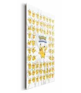Schilderij Pokemon - pikachu