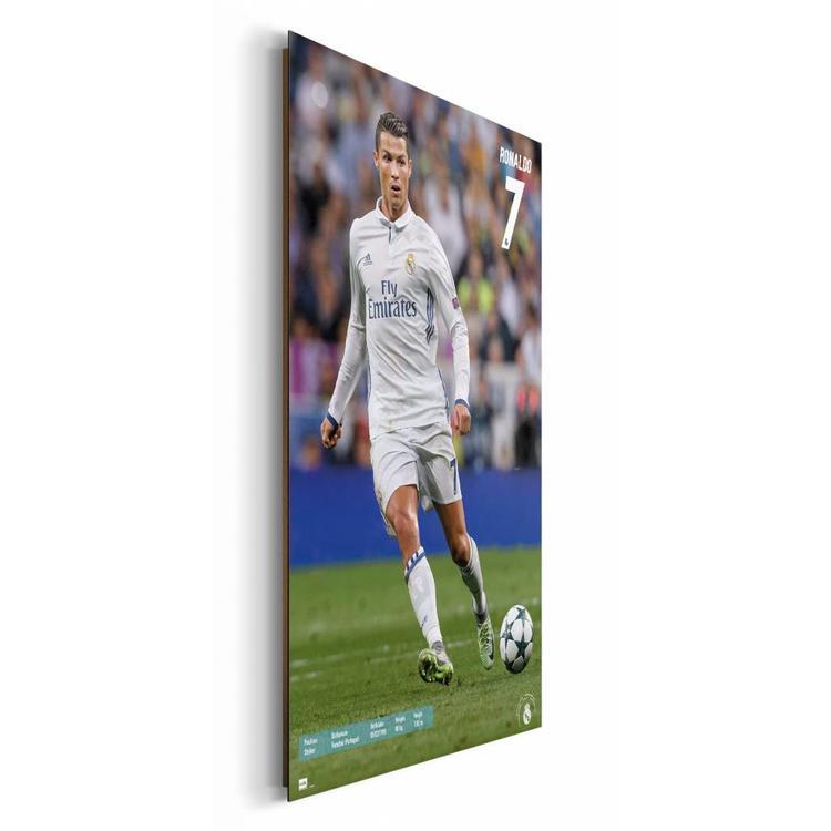 Cristiano Ronaldo  - Schilderij 60 x 90 cm