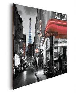 Schilderij Straat in Parijs