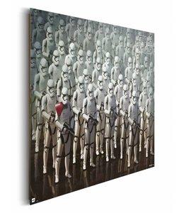 Schilderij STAR WARS EPISODE VII THE FORCE AWAKENS stormtroopers