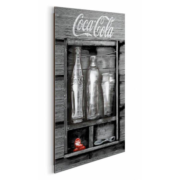Coca-Cola vintage  - Schilderij 40 x 50 cm