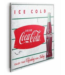 Schilderij Coca-Cola - ice cold
