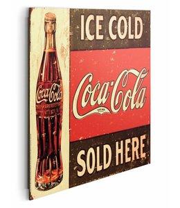 Schilderij Coca-Cola reclame