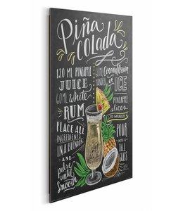 Schilderij Pina Colada
