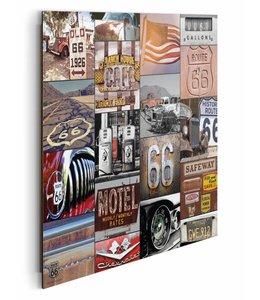 Schilderij Route 66