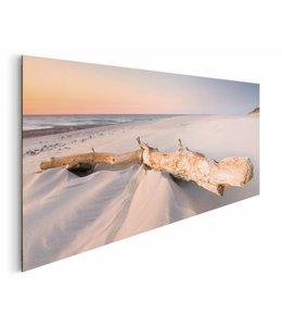 Schilderij Strand hout