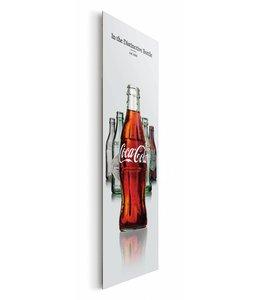 Schilderij Coca-Cola - fles evolutie III