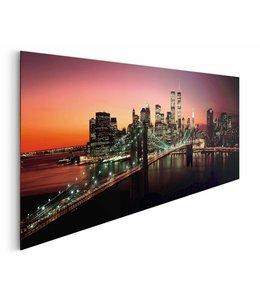Schilderij New York zonsondergang