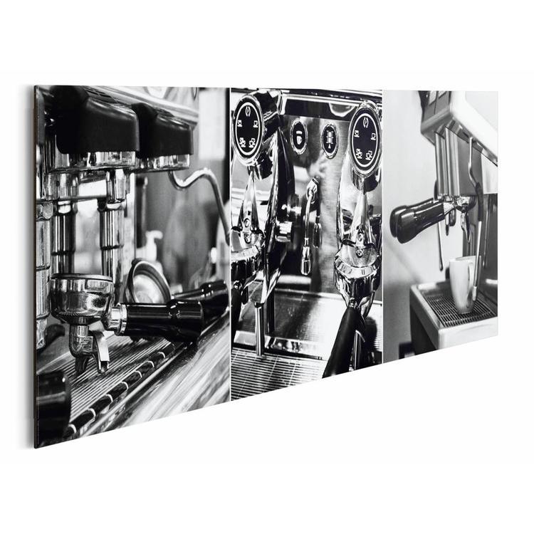 Espresso   - Schilderij 90 x 30 cm