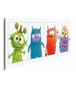 Schilderij Monsters