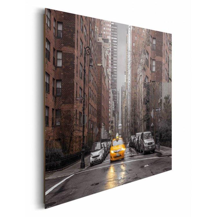 New York Taxi  - Schilderij 90 x 60 cm