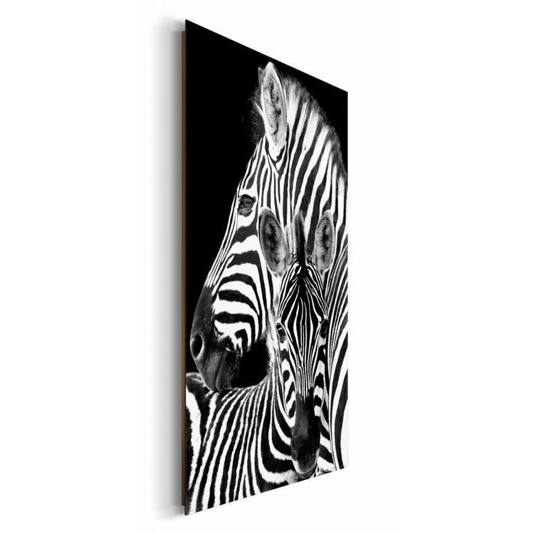Zebra    - Schilderij 60 x 90 cm