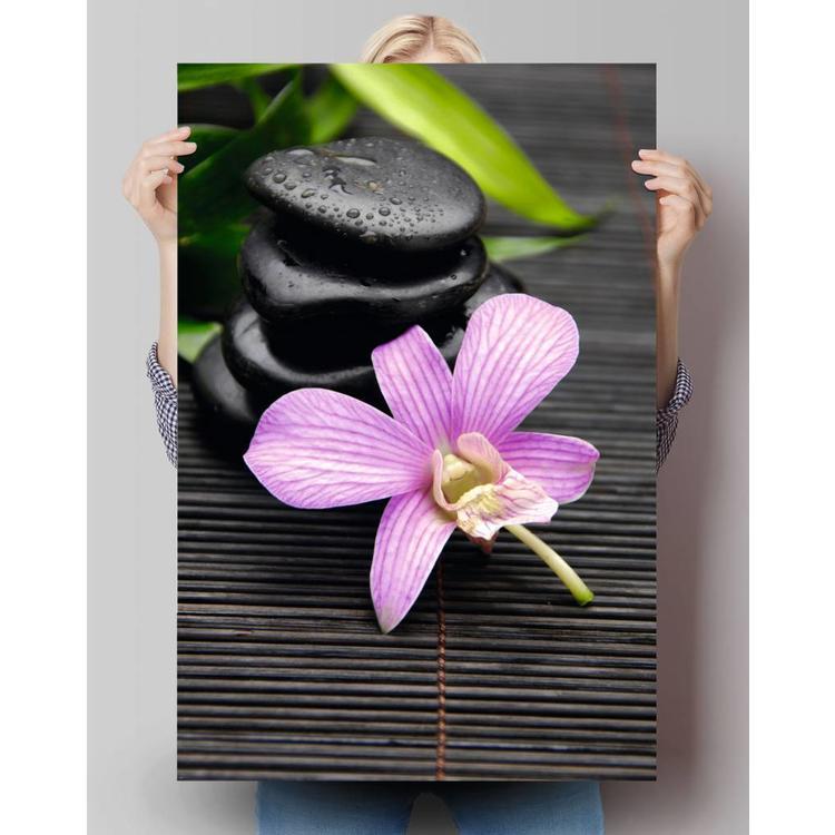 Zen Bloem  - Poster 61 x 91.5 cm