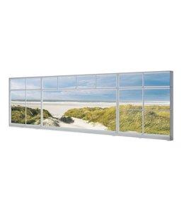 Schilderij Noordzee uitzicht