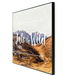 Schilderij De wildernis in