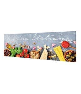 Schilderij Cucina Italiana