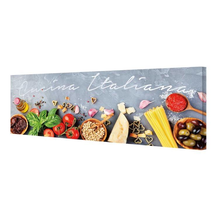 Cucina Italiana  - Schilderij 80 x 30 cm