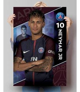 Poster PSG - Neymar 17/18