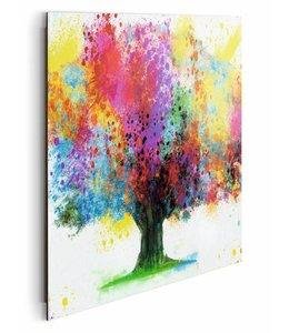 Schilderij Boom in aquarel